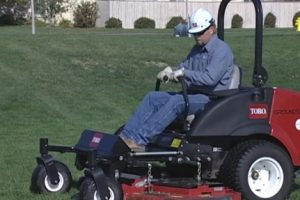 safety procedures for lawn mower operators
