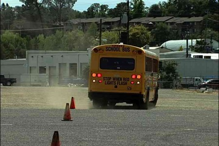 Backing up Procedures for School Bus Drivers
