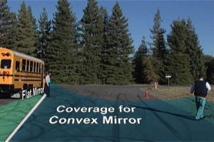 Everything Mirrors on the School Bus