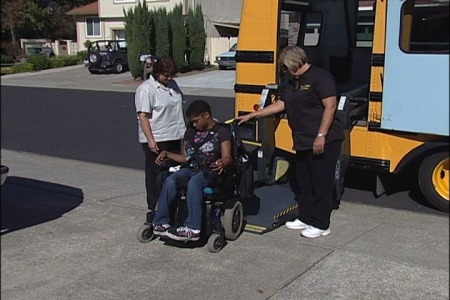 safety techniques for special needs bus drivers