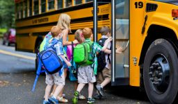 Loading and Unloading the School Bus Safely
