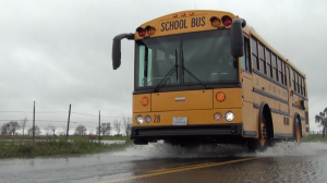 Driving a School Bus in Inclement Weather: Rain Storms