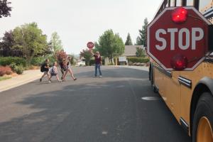 Safe School Bus Crossing